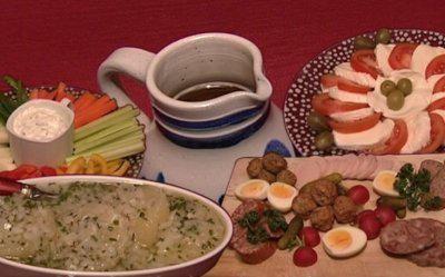 Hessisch Worscht, Hessisch Käs', Hessisch Knerzje, Hessisch Gsöff (Jessica Wahls) - Rezept - kochbar.de
