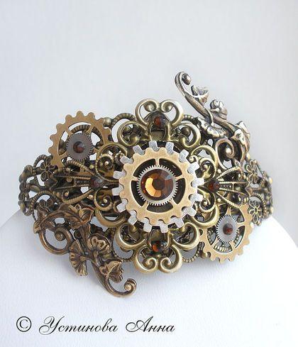 Браслеты ручной работы. Стимпанк браслет,стимпанк кольцо, браслет в стиле стимпанк/ Steampunk. Анна Устинова  -Steampunk master-. Ярмарка Мастеров.