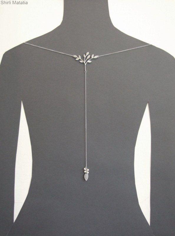 High neckline dress necklace tree