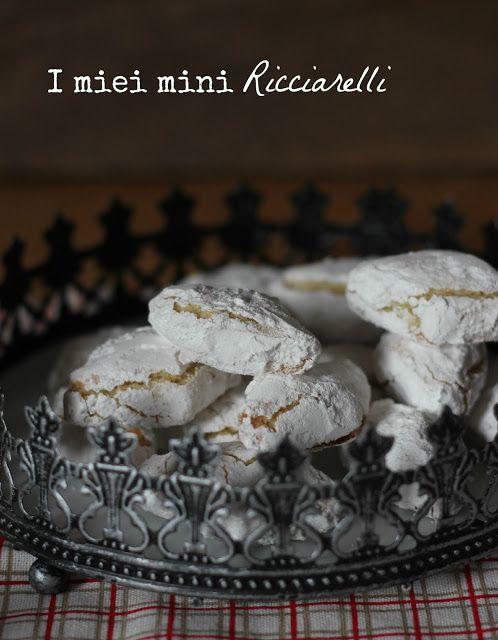 """Andante con gusto: I miei """"one bite"""" Ricciarelli"""
