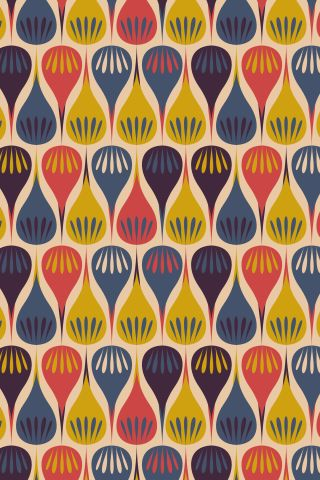 """""""Flower DroPs"""" by MaRwA El-AttAr. To have a colourlovers pattern printed on fabric, go to http://www.colourlovers.com/store/fabric"""