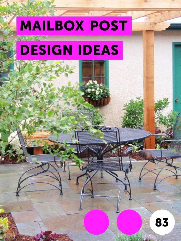 Mailbox Post Design Ideas Lawn fertilizer, Garden soil, Lawn