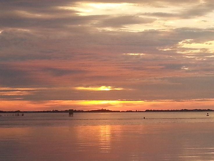 Sunrise at Captree State Park Babylon NY [OC] [3264x2448]