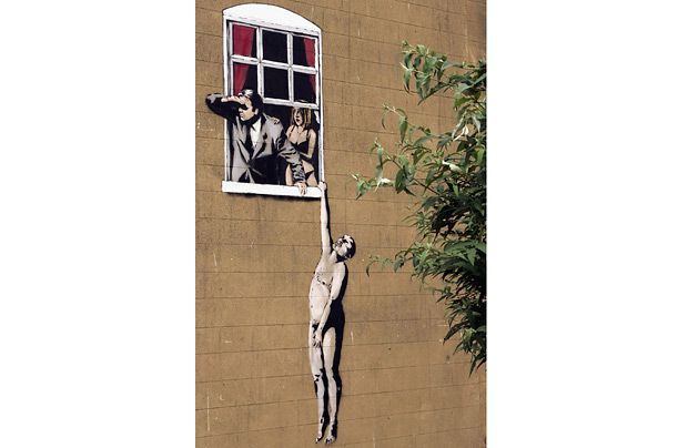 """essays on banksy Banksy's """"exit through the gift shop"""": street art and our quest for authenticity"""" ethan dubois (wr 150, paper 3) read the instructor's introduction."""