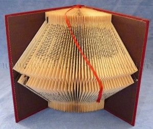 54 best folded books images on pinterest book sculpture altered book art and book crafts. Black Bedroom Furniture Sets. Home Design Ideas