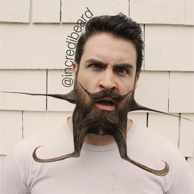 Best Crazy Beard Fetish Images On Pinterest Bearded Guys - Mr incredibeard really coolest beard ever seen