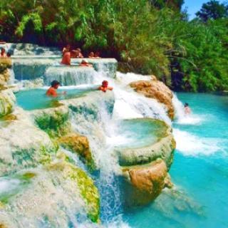 Tuscany, Italy mineral baths