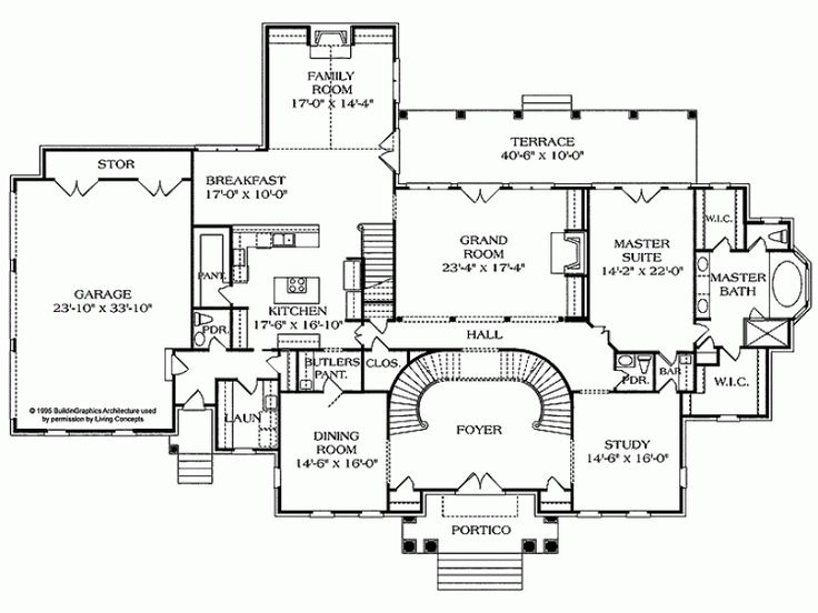 9 best waterfront dream home images on pinterest floor for Neoclassical house plans
