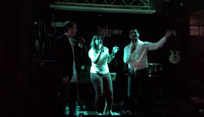 epic karaoke shot from C3 2014 in Miami