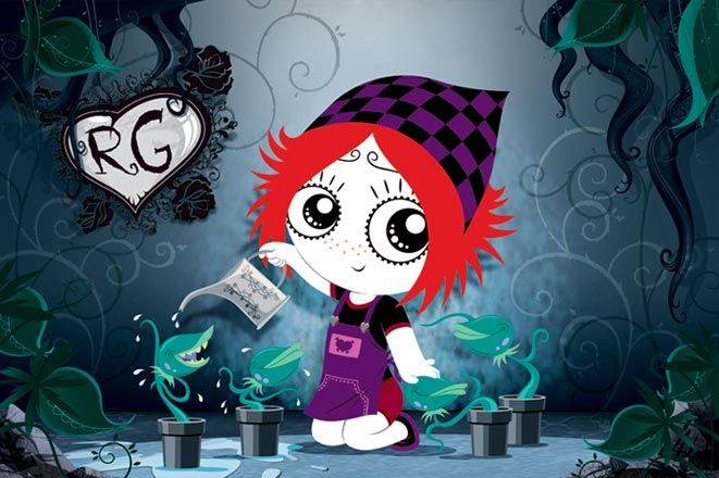 Ruby Gloom - recently discovered dark-ish kids' show. Love it and the theme song is infectious!
