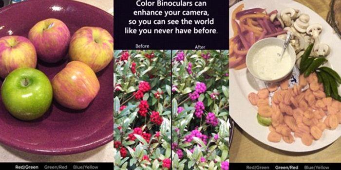Una nueva aplicación ayuda a las personas con distintos tipos de daltonismo a distinguir mejor los colores. Se trata de Color Binoculars, una app desarrollada por Microsoft. http://iphonedigital.com/aplicacion-colores-daltonicos-ayuda-personas-daltonicas-color-binocular/  #iphoneapps #apple