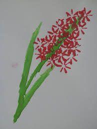 szívószál virág
