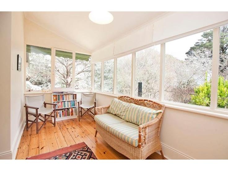 enclosed verandah.