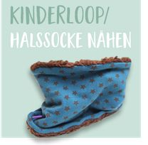 Lybstes Freebook Halssocke Loopschal