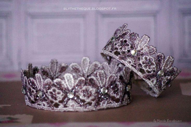 vintage lace crown
