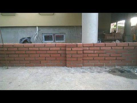 Constructie gard din caramida plina. Firma constructii Timisoara