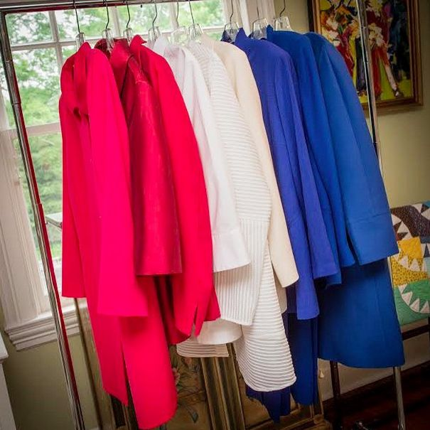 Hillary Clinton's pantsuits on her newly created Instagram account