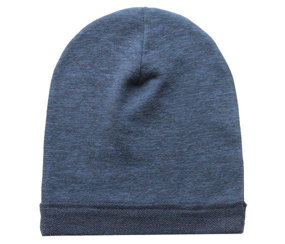Gorrita tejida del bebé, Gorro niño, gorrita tejida flexible, Slouchy Beanie, Slouchy Hat, sombrero flexible, muchacho gorro, gorro de niña, gorro azul marino, Beanie azul