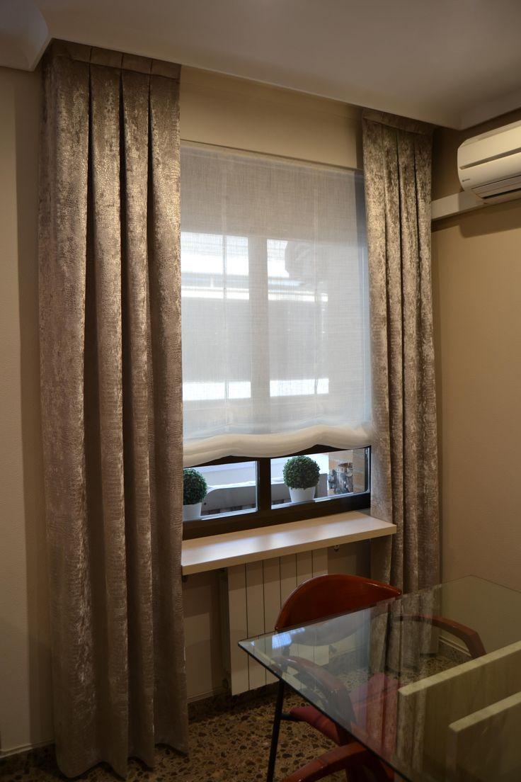 98 best images about nuestros trabajos clientes contentos - Ventanas con cortinas ...