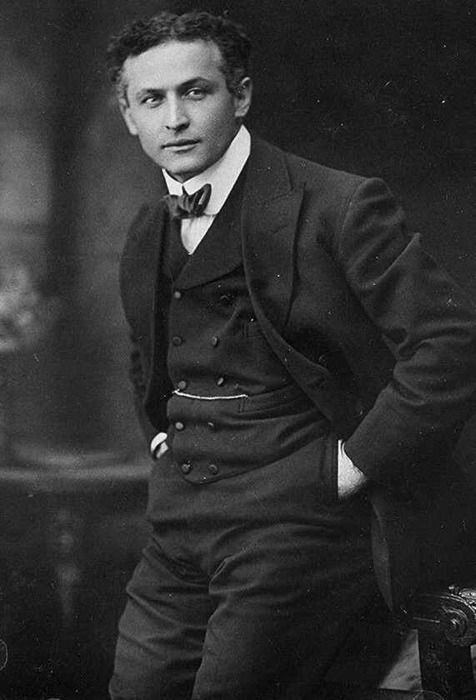 Internationally famous Hungarian-American escape artist Harry Houdini