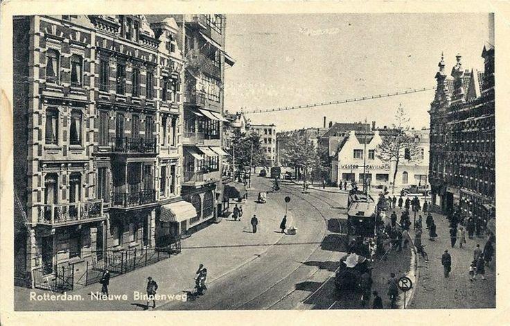 De Nieuwe Binnenweg in de jaren '30