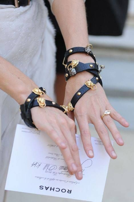 sturdy bracelet to pep up your outfit