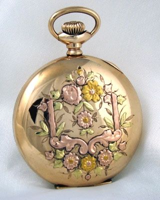 WALTHAM  Lady's Multi Color Vintage Pocket Watch 1902 Ashton Blakey Antiques