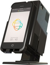 A startup based in Philadelphia, PA is aiming to replace expensive and complicated DNA diagnostic equipment with an easy to use smartphone controlled setup that performs real-time qPCR. http://www.labcritics.com/2013/07/29/startup-seeks-bring-dna-diagnostics-smartphones/