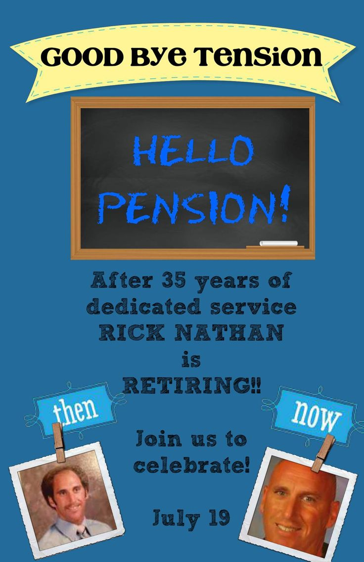 Helped a friend make retirement party invites - Get creative and make your invites and cards as personal as you want. (the back has all the party info)  This card was made from scratch - or find a template in the Pixingo studio!  www.pixingo.com/denise