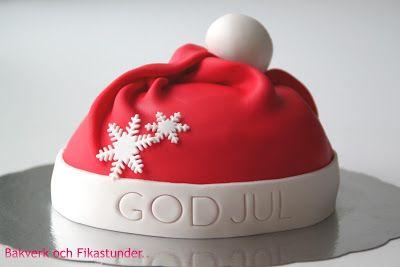 Tomteluva tårta!   Bakverk och Fikastunder