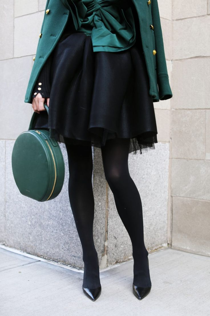 holiday-outfit-evergreen-tutu-maje-shopbop-nordstrom-nyc