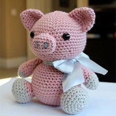 Hamlet the Pig amigurumi crochet pattern by Little Muggles ☆•★Teresa Restegui http://www.pinterest.com/teretegui/★•☆