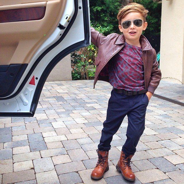 全球最年輕時尚型男-Alonso Mateo