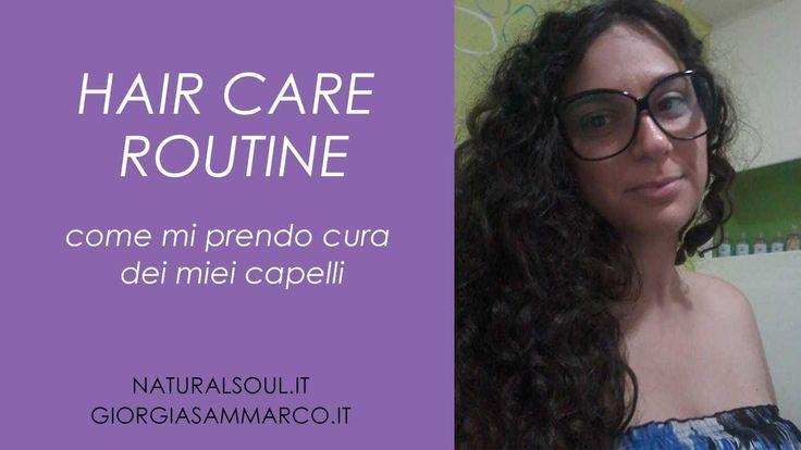 Nuovo video sulla mia #HairCareRoutine: come mi prendo cura dei mei capelli con i #cosmeticiBio.