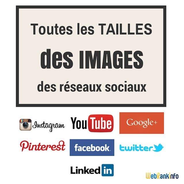 Toujours utile : toutes les tailles d'images à utiliser pour Facebook, Twitter, LinkedIn et autres réseaux sociaux http://www.webrankinfo.com/dossiers/reseaux-sociaux/dimensions-images?utm_campaign=coschedule&utm_source=pinterest&utm_medium=Olivier&utm_content=Tailles%C2%A0des%20images%20pour%20les%20r%C3%A9seaux%20sociaux%C2%A0en%202016