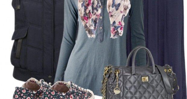 Hijab Fashion: Jack Wills sneaker