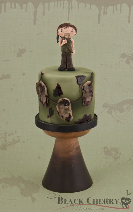 Daryl Dixon Cake: Happy Birthday, Daryl Dixon, Walks Dead Cakes, My Birthday, Cakes Walks Dead, Darryl Dixon, Daryl Cakes, Dixon Cakes, Birthday Cakes