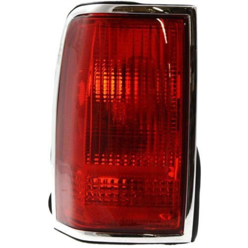 1990-1997 Lincoln Town Car Tail Lamp LH, Lens And Housing, W/ Emblem