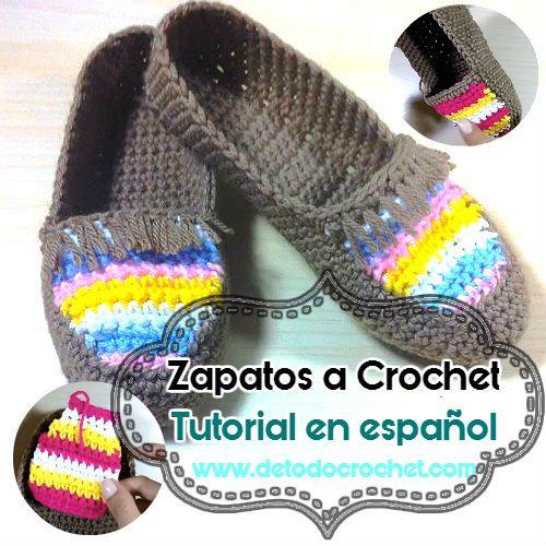 Cómo tejer zapatillas a crochet paso a paso en español