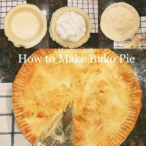 This buko pie recipe is so delicious, it is an adapted recipe from an old cookbook edition of Nora Daza. A known celebrity cooking chef.