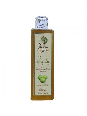 Earth Organic Amla Hair Oil 200ml