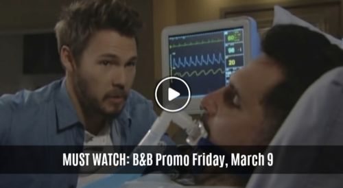 MUST WATCH: The Bold And The Beautiful Preview Video Friday, March 9: Bill In Bad Shape, Liam Vows to Find Shooter