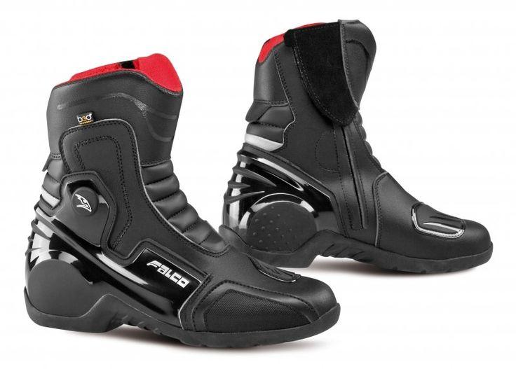 Umas botas desportivas de cano curto, à prova de água, destinadas a uma utilização turística ou urbana.