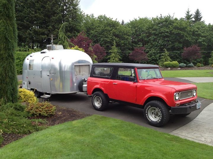 International Harvester Trailers : Images about vintage campers an travel trailers on