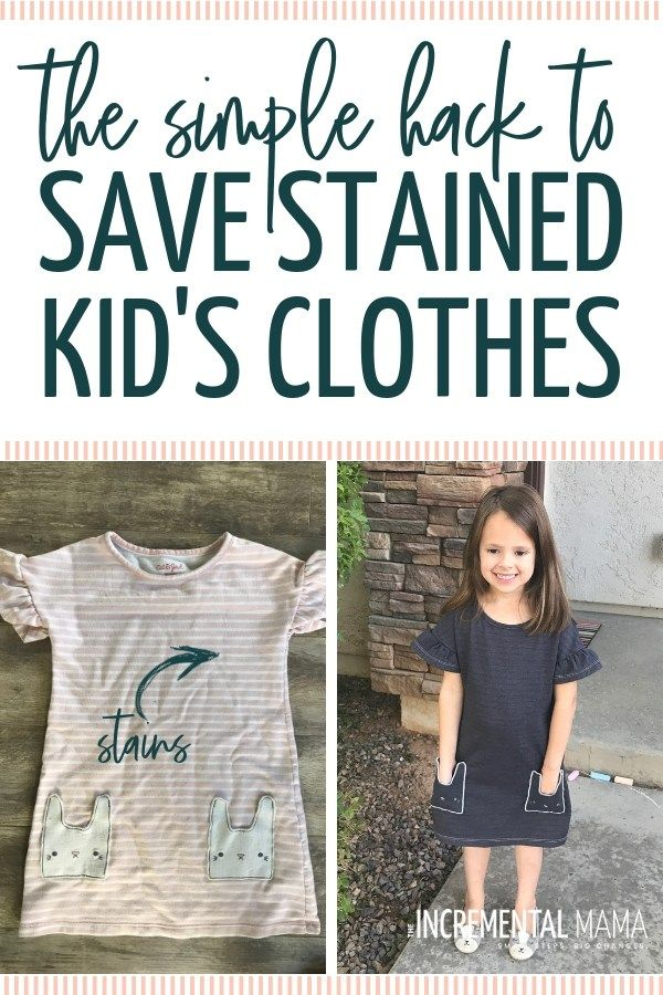 244ee150b8b Simple Hack to Save Stained Kid s Clothes