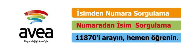 Avea numara sorgulama servisi 11870 ile 7 gün 24 saat, dilediğiniz zaman sorgulama yapabilirsiniz.