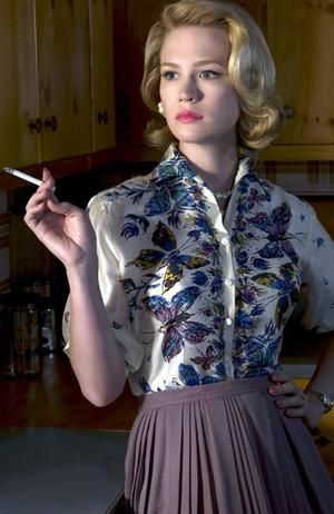 Betty Draper - such a beautiful face, with such a troubled soul.