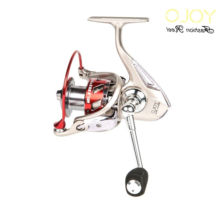 42.12$  Watch here - http://ali2wp.worldwells.pw/go.php?t=32743335720 - YOLO Spinning Fishing Reel 3000/4000/6000 Molinete Para Pesca Metal Handle Knob Fly Fishing Reels Saltwater Steering-wheel Peche