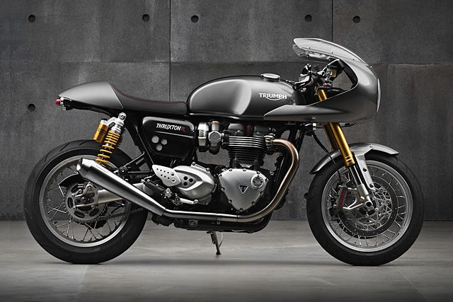 Review: 2016 Triumph Thruxton.   Cast your mind back. Way back. Back to a time when blogs like Pipeburn were nothing more than twinkles in their creator's eye. Back before you'd see cafe racers running around the streets and filling up Youtube videos. Now you're in the mid noughties. The more lucky ones amongst us had already the online images showing the amazing creations that were...