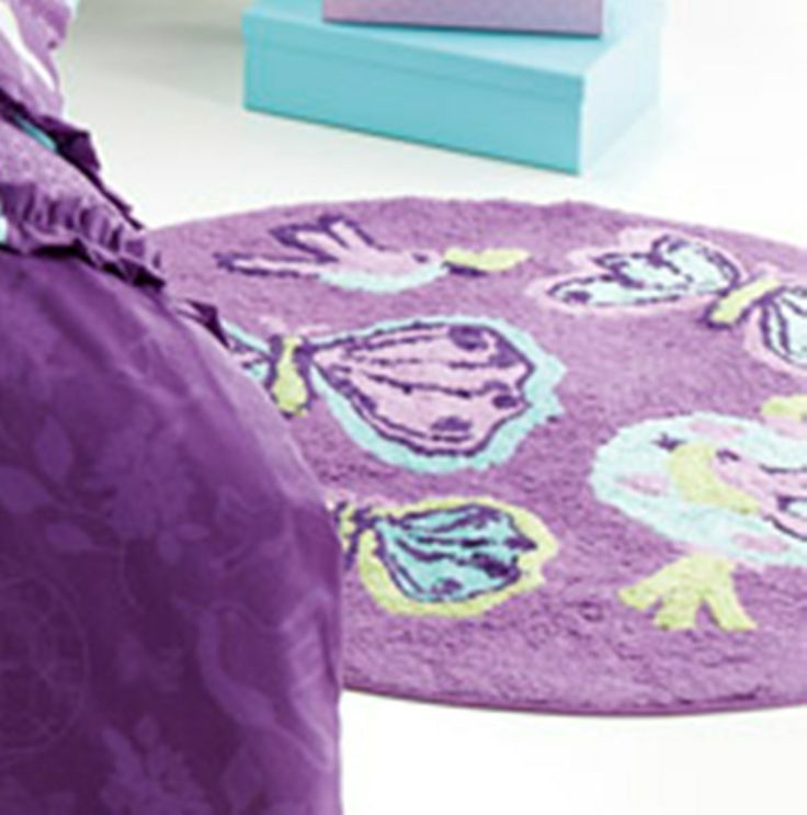 Butterfly Lantern Floor Rug by Jiggle and Giggle from Harvey Norman NewZealand